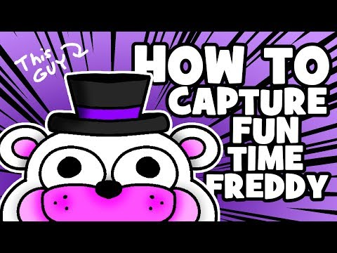 How To Capture Funtime Freddy - (Minecraft FNAF Roleplay)