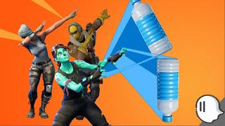 (EASY TUTORIAL) How to cap and flip the bottle flip toy | Fortnite Battle Royale | ThatGhostGaming