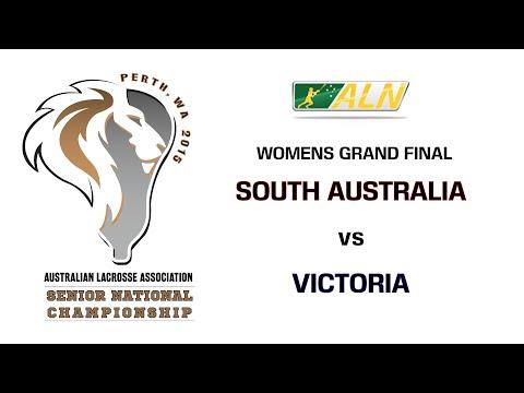 2015 ALA Senior National Lacrosse Championship Women's Final: South Australia vs Victoria