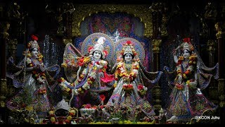Sandhya Arati Darshan Sri Sri Radha Rasbihari Temple 15th Aug 2018 Live from ISKCON Juhu, Mumbai