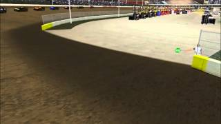 Eldora AI test race with Crates on Dirt Mod Thumbnail