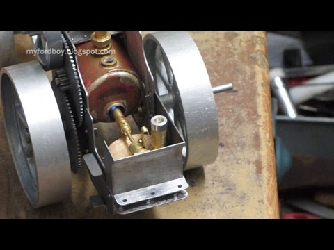Simple Steam The Myfordboy Traction Engine Part 12 Gas Burne