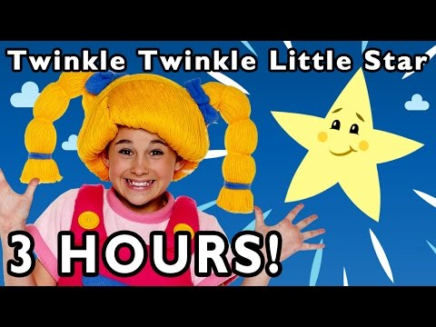 Twinkle Twinkle Little Star and More | 3 Hours of Nursery Rhymes from Mother Goose Club!