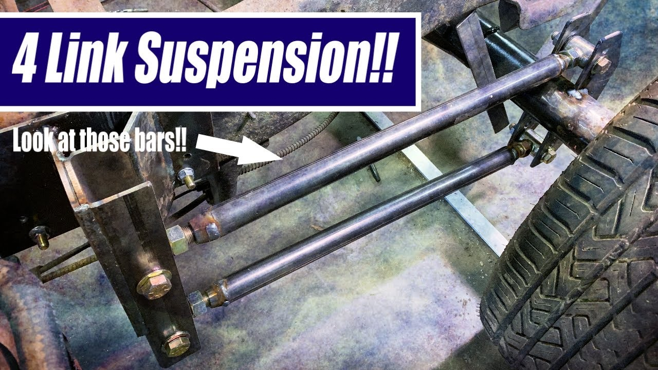 how to build 4x4 4 link suspension