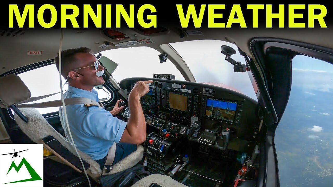 Flighting Weather to Get Home in the Kodiak Airplane | Bush Pilot Flight Vlog
