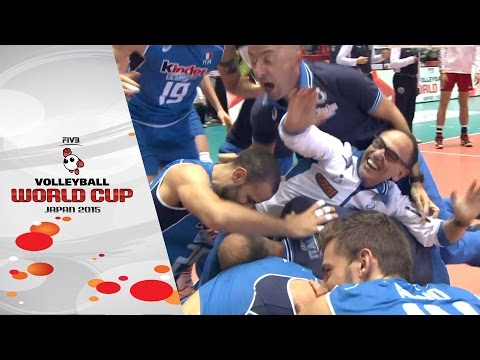 Italy win the ticket to Rio 2016