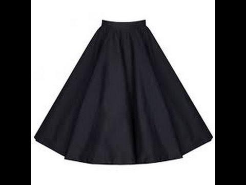 Hướng Dẫn May Váy Xòe 180 Kiểu 1_ How To Make A Circle Skirt (180-1)?