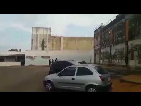 Vídeo: esgoto jorra na Penitenciária Lemos Brito, denuncia sindicato
