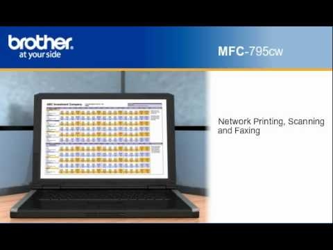 BROTHER MFC-795CW SCANNER DRIVER