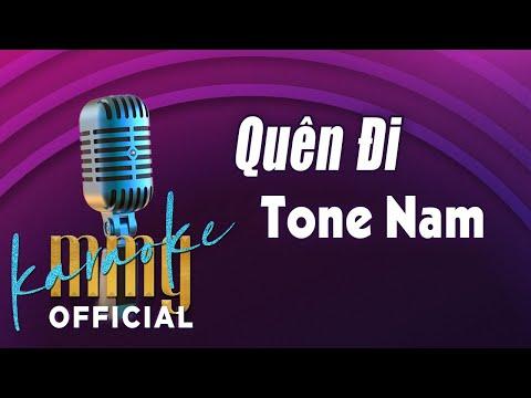 Quên Đi (Karaoke Tone Nam) | Hát với MMG Band