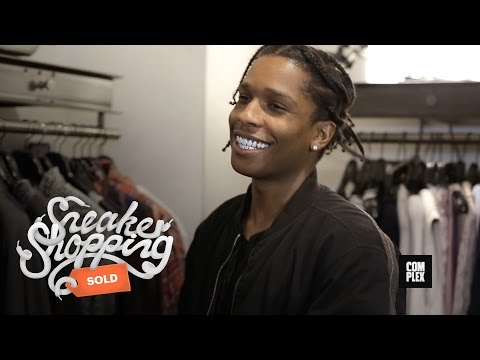 Thumbnail: A$AP Rocky Goes Shopping With Complex At Maxfield