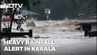 Heavy Rainfall Warning In Kerala; Red Alert In 5 Districts