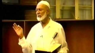 Ahmad Deedat. Oh You Muslims Take Heed Or Verily Allah Will Destroy Yous. Part 1 Thumbnail