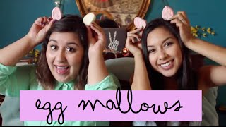 Chubby Easter Bunny Challenge and Egg Mallow Review
