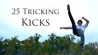25 Tricking KICKS  A Progressive Session