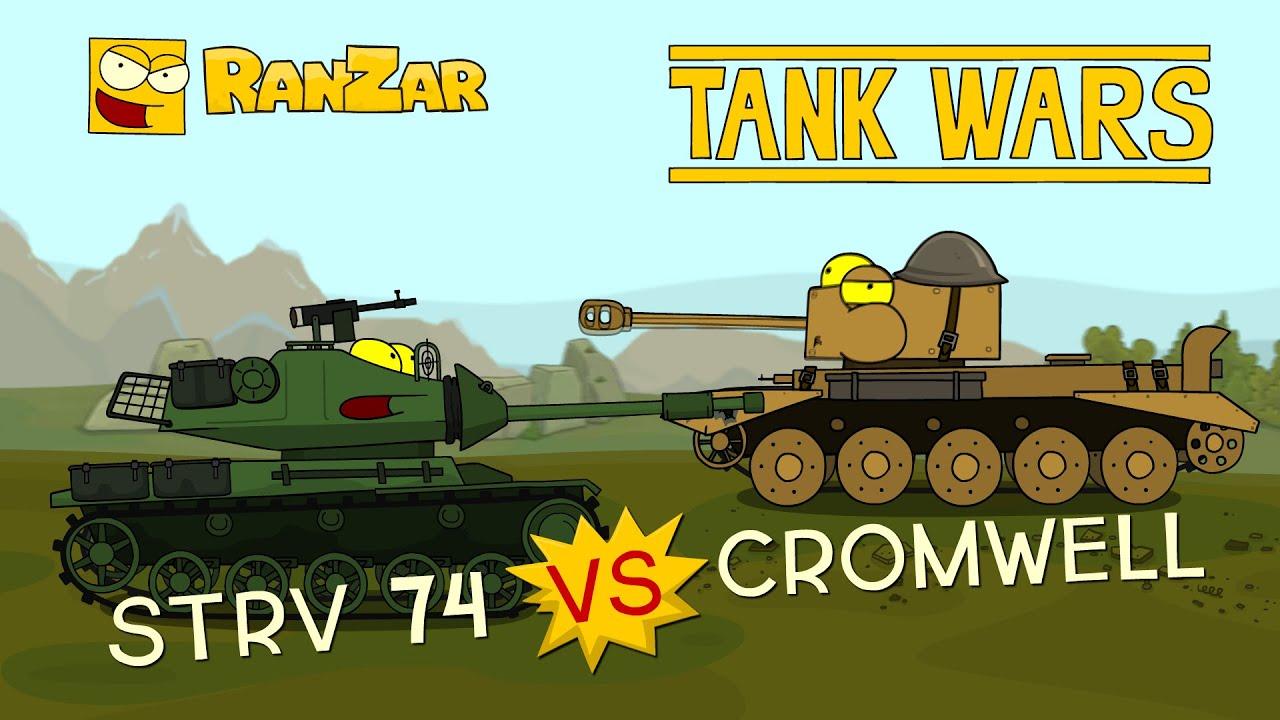 Cromwell vs Strv 74 Hellcat Tank Wars Ranzar