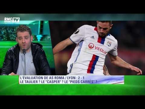 L'After évalue AS Roma-Olympique Lyonnais (2-1)