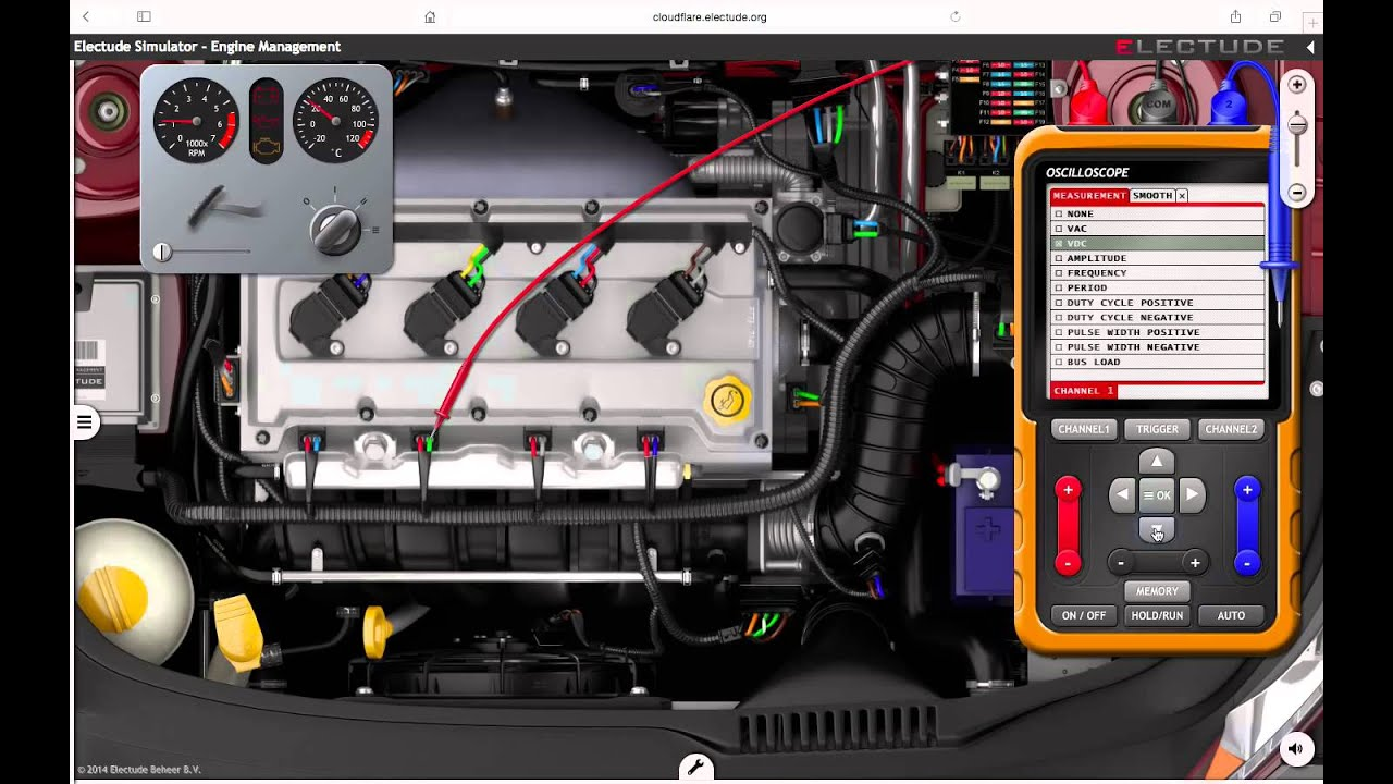 E-learning lessons for automotive essentials and electric drive