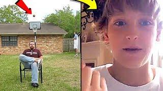TOP 10 YOUTUBERS FIRST VIDEOS! (Logan Paul, DudePerfect, PewDiepie)