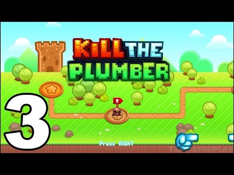 Kill the Plumber World - Gameplay Walkthrough Part 3 - World 3: Levels 25-36 (iOS, Android)