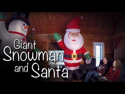 GGC - 74 - Our Giant Snowman and Santa