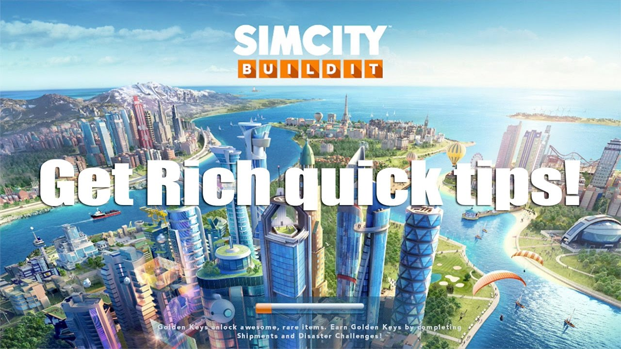 Easy Get Rich Quick In Simcity Buildit Ios Android Youtube