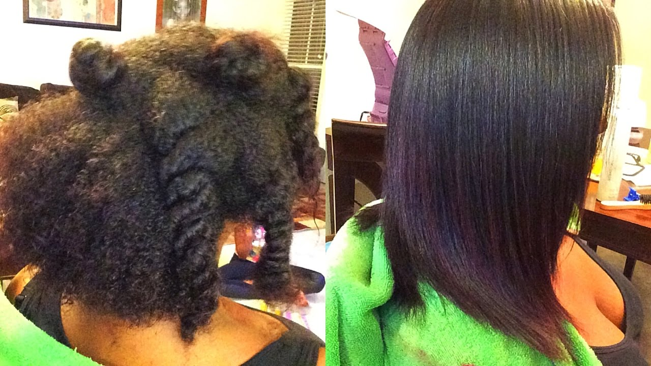 Best Way To Flat Iron Natural Hair