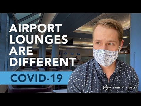 Airport Lounges Have Changed During COVID-19