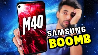 Samsung M40 is official now !! 🔥