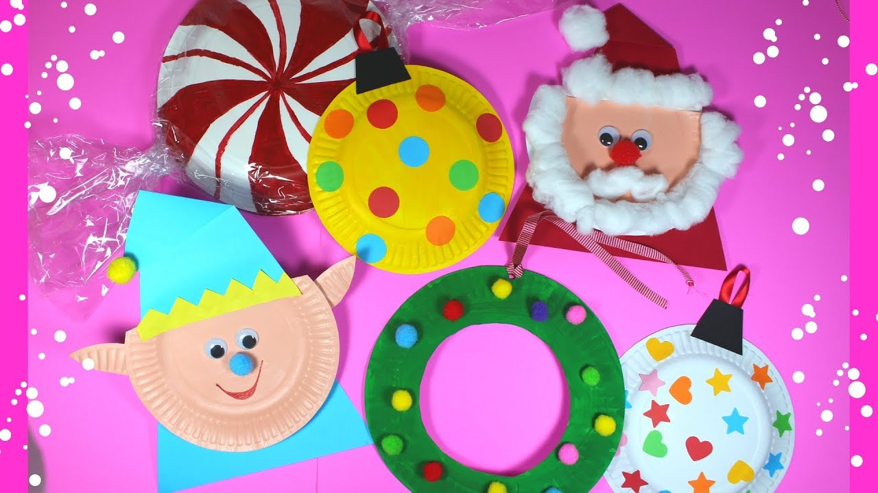 Paper Plate Christmas Crafts.Paper Plate Christmas Craft For Preschoolers Easy Kids Craft