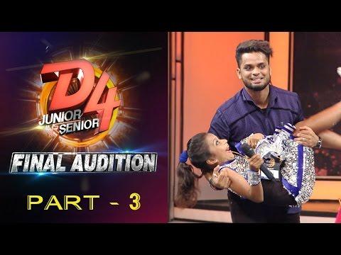 D4 Junior Vs Senior I Final Audition - Part 3 I Mazhavil Manorama