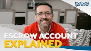 Whats is your escrow account - Tim Lamb