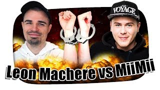 Leon Machere vs. MiiMii der BEEF eskaliert! - Kuchen Talks #490