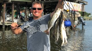 Speckled Sea Trout {Catch Clean Cook} FASTEST VIDEO EVER FILMED!