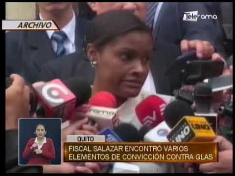 Fiscal Salazar encontró varios elementos de convicción contra Glas