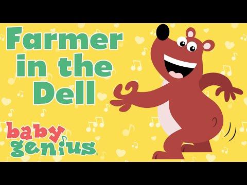 Farmer in the Dell | Favorite Children's Nursery Rhymes | Baby Genius