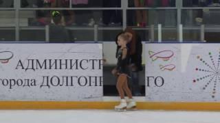Александрова Милана (3 юн. разряд, 3 место)
