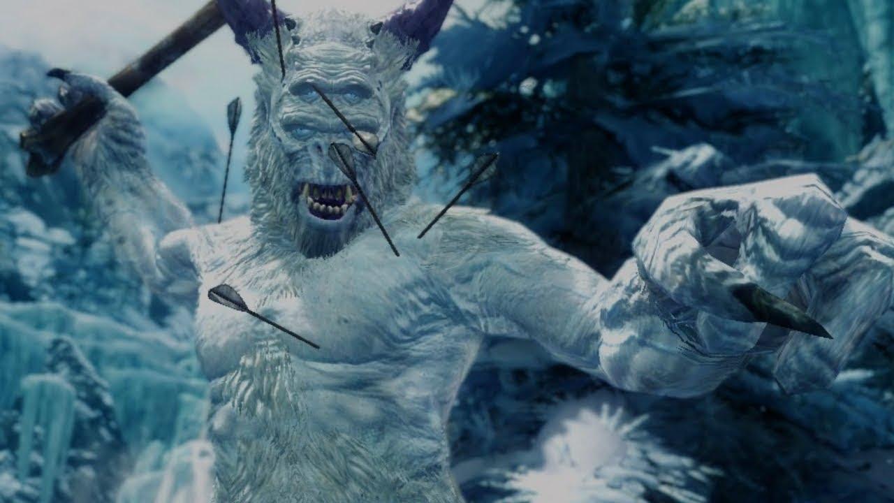 Skyrim Dawnguard Dlc All Frost Giants Amp Paragons