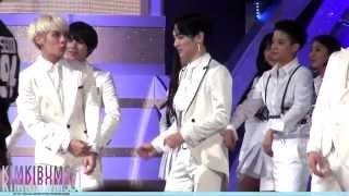 [HD fancam] 140116 The 28th Golden Disk Awards SHINee - ending