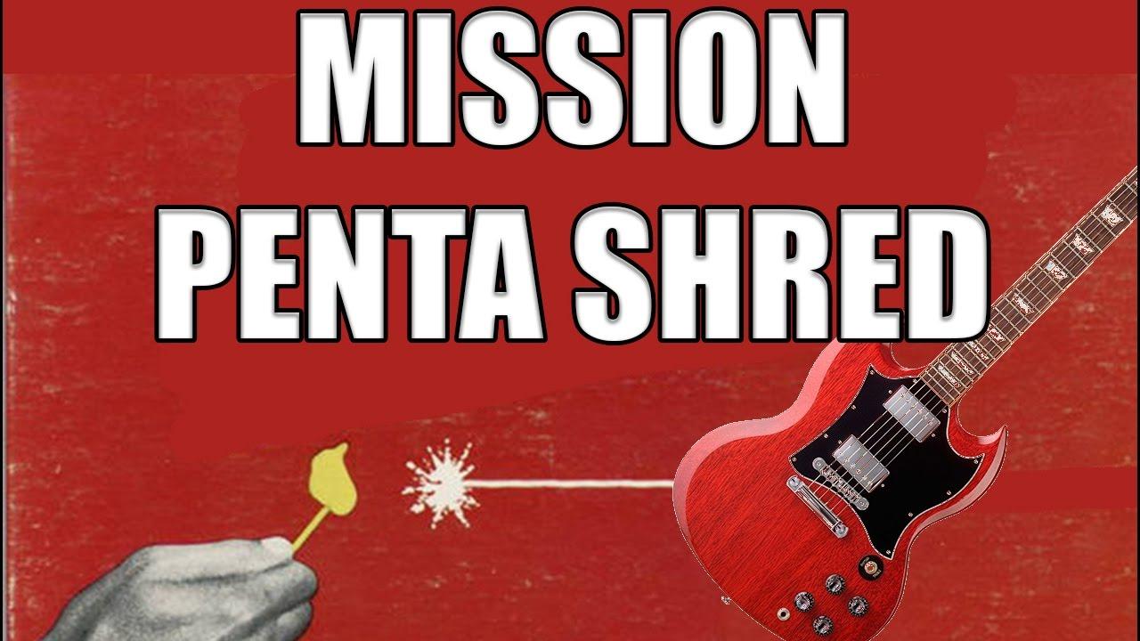 MISSION PENTA SHRED - LE GUITAR VLOG 170
