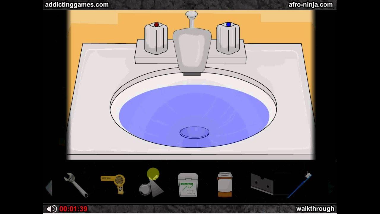 bathroom escape walkthrough help youtube