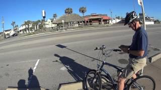 Galveston Sea Wall Biking Part I