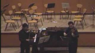 Bach Double Concerto for 2 Violins (Malaysia)