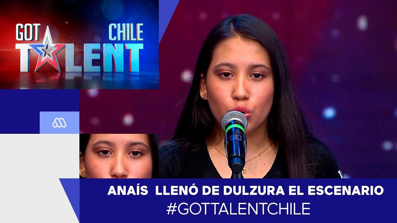 Anaís Ramírez llenó de dulzura el escenario / #GotTalentChile 2021