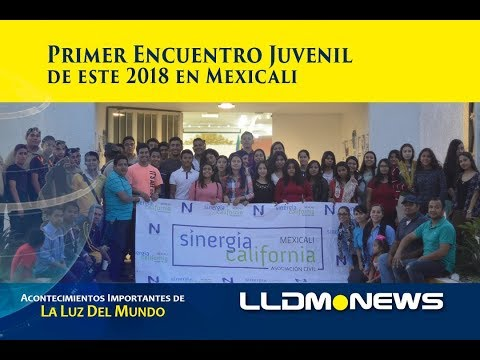 Primer encuentro juvenil de este 2018 en Mexicali.