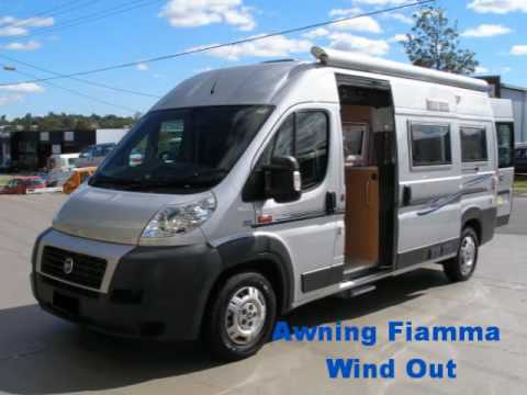 Campervans For Sale >> '08 Fiat Motorhome - YouTube