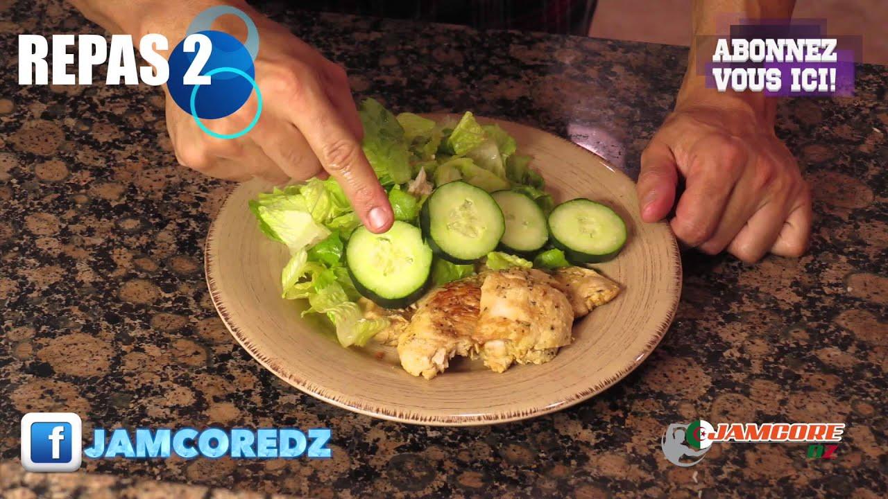 programme jamcore pour maigrir nutrition regime youtube