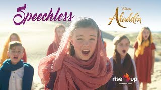 "Naomi Scott - Speechless From ""Aladdin"" - Cover by Rise Up Children's Choir"