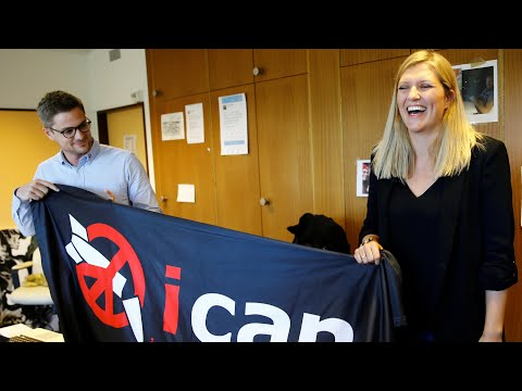 Ican director: I thought Nobel peace prize win was a prank