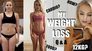 HOW I LOST WEIGHT & GOT LEAN - Q & A | Jade Joselyn